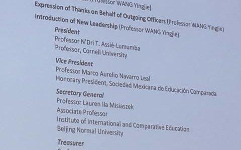 Comité Ejecutivo del WCCES 2016-2019